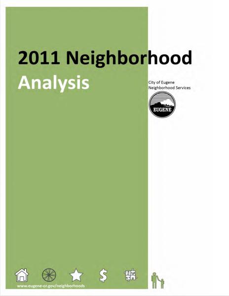 Neighborhood Analysis 2011 Frontpage Image