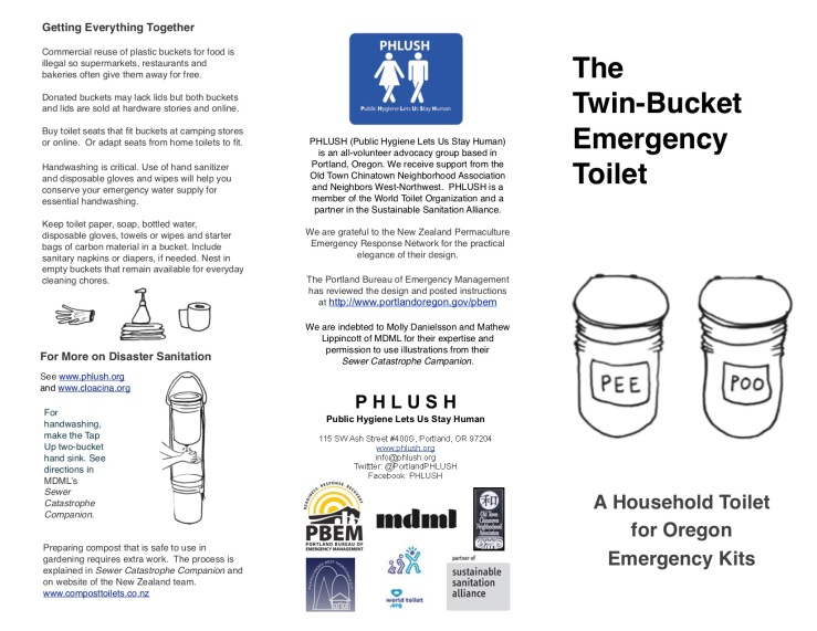 Twin-Bucket Emergency Toilet1
