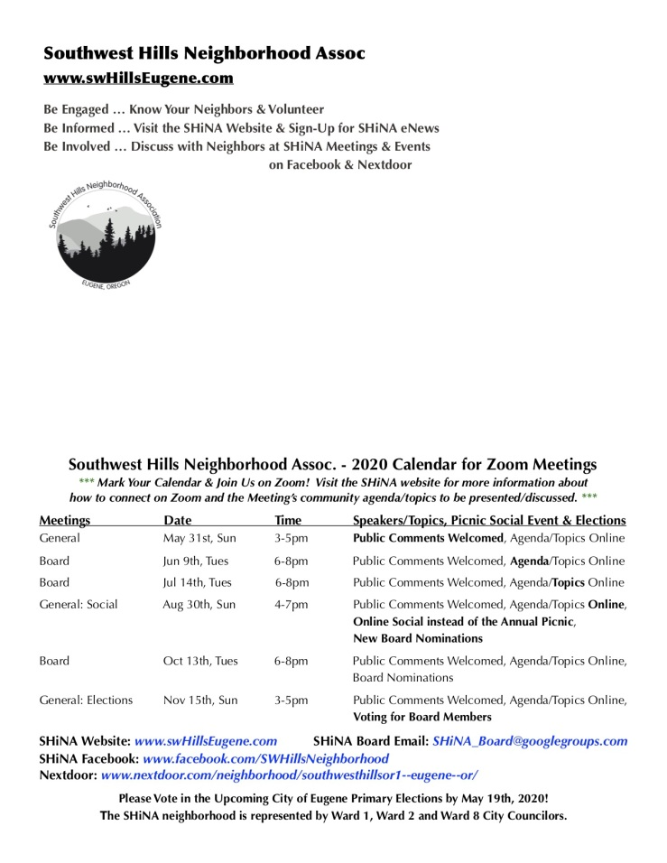 SHiNA May 2020 Newsletter44