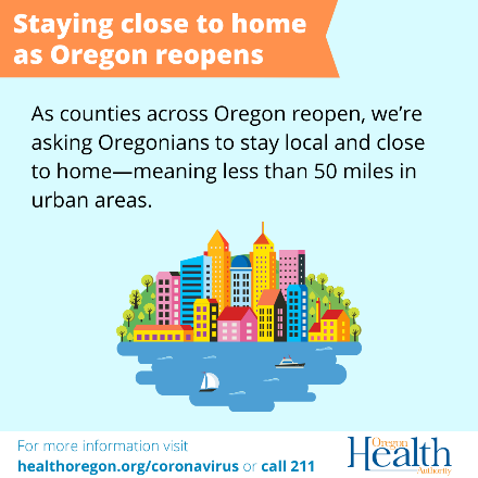 stay close to home oregon