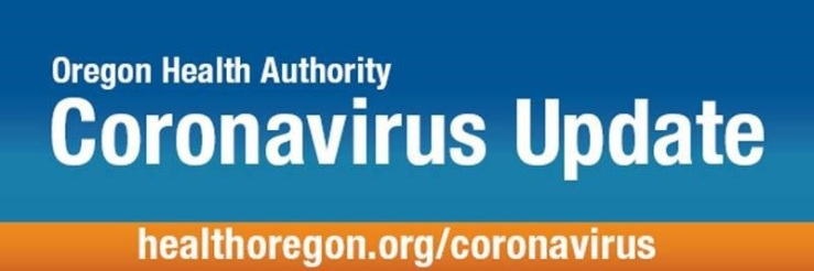 Oregon Health Authority CoronaVirus Update Banner