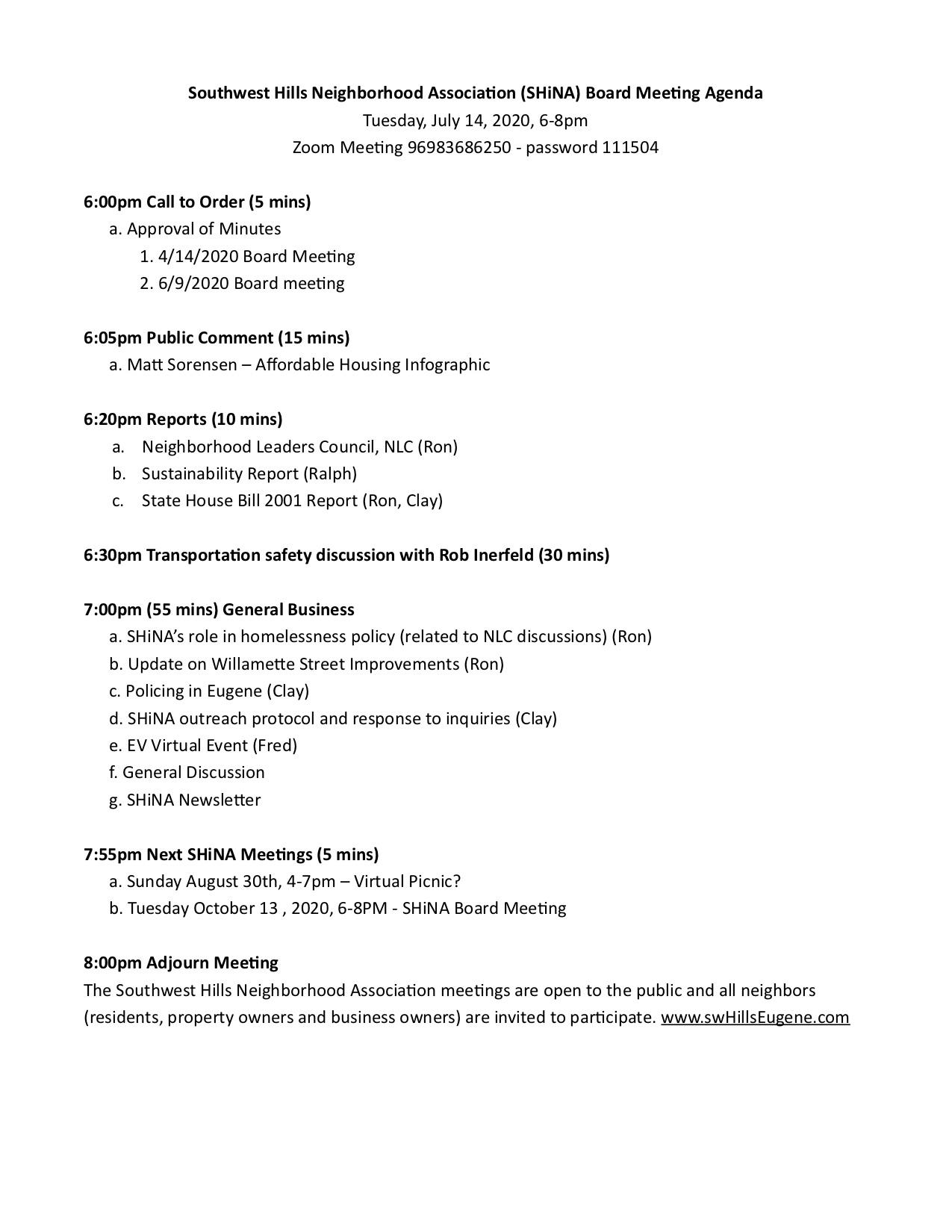7_14_20 SHiNA Board Meet Agenda