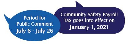 community safety payrol tax