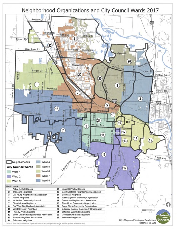 NAs & City Council Wards 2017 Map